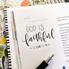 God is faithful, by whom you were called into the fellowship of His Son, Jesus Christ our Lord. Bible Verses Quotes, Jesus Quotes, Bible Scriptures, Faith Quotes, Prayer Quotes, Scripture Art, Bible Art, Journaling, Bibel Journal