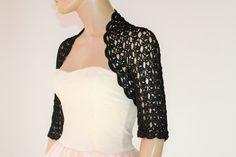 Wedding Bridal Bolero Shrug Lace Crochet Shrug от GABRIELAFAUR