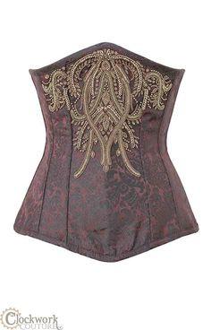 Damenunterwäsche Damenmode Brokat-corsage Von Luxury & Good Dessous Fine Workmanship