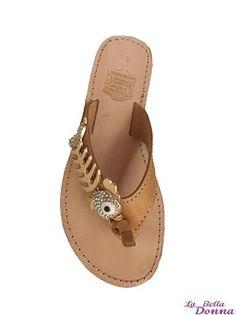 La Bella Donna - Χειροποιητα σανδαλια παιδικα - Gold Fish Palm Beach Sandals, Goldfish, Jewlery, Shoes, Fashion, Jewelery, Moda, Jewelry, Zapatos