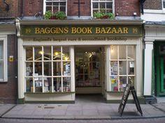 Baggins Book Bazaar, England's largest rare & secondhand bookshop