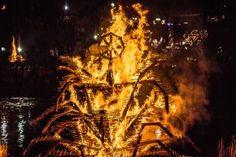 Papartis // Fire sculpture by Mantvydas Vilys and Jordi NN