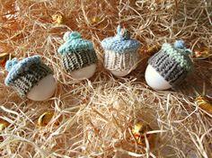 Egg cosy hats Cake egg cozy Easter egg warmer by IrinasSTRICKMODE