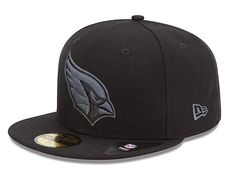 NEW ERA x NFL「Arizona Cardinals Black Grey Basic」59Fifty Fitted Baseball Cap | Strictly Fitteds