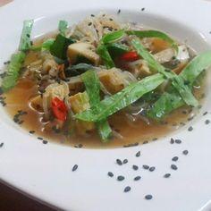 Chinesische Pilzsuppe #vegan