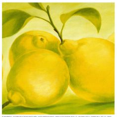 Lemon Posters by Susanne Bach at AllPosters.com