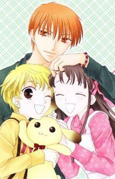 Kyo, Momiji & Tohru - Fruits Basket - Natsuki Takaya ♥