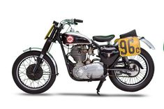 This 1956 BSA Gold Star TT Flat Track Racer was bought in '56 by Harvey Farrell and raced at the world famous Daytona Beach course throughout 1957, it was