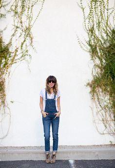 wearing overalls past the age often - a house in the hills - interiors, style, food, and dogs