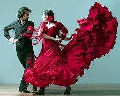 flamenco dance | ... members of the Flamenco Vivo! Carlota Santana dance troupe perform
