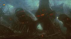 Pirates of The Caribbean: 60 Original Concept Art Gallery - Daily Art, Movie Art