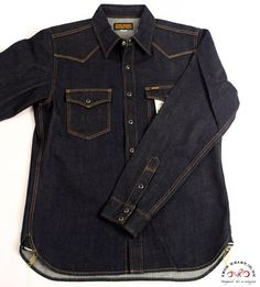 Shirting IHSH-33 - IRON HEART Japanese Denim Jeans