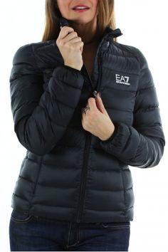 accueil femme manteau doudoune doudoune ea7 emporio armani noire femme. fa31de636ba