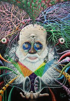 Psychedelic Press UK 2014 Vol.4 cover art.