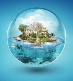 Bubble by Fábio Araujo, via Behance