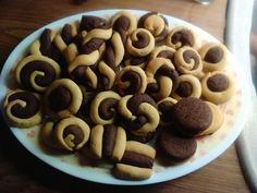 Cookie Recipes, Cereal, Beans, Yummy Food, Cookies, Baking, Vegetables, Breakfast, Desserts