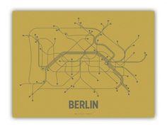 Berlin Transit Map