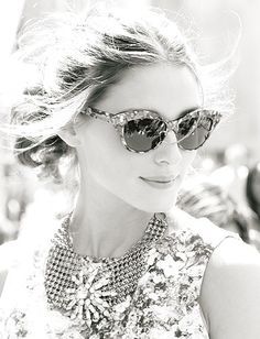 bf355dbf401 Cat-eye sunglasses - rocked by Olivia Palermo