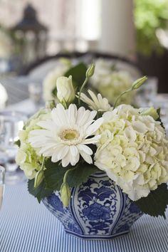 Pinterest Pretties.....Blue and White Love! - The Enchanted Home