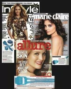 Loved by the magazines!  The AMP MD Roller is making a come back! Get yours first when it becomes available in October (September for consultants, so now is a great time to join us!). Message me for details! www.alutz.myrandf.com