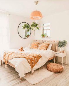 Cute Bedroom Decor, Room Design Bedroom, Small Room Bedroom, Room Ideas Bedroom, Home Bedroom, Small Rooms, Boho Bed Room, Bedroom Stuff, Ikea Bedroom