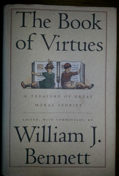 Book of Virtues : A Treasury of the World's Great Moral Stories by William J.... $7.98 Free Shipping
