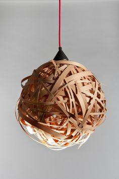 Ceiling Lighting  Hanging lamp  Wooden von ezekielhandmade auf Etsy