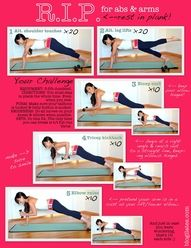 For perfect abs