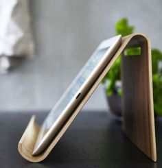 Ikea bamboo Tablet Stand Rimforsa (new 2015 collection) | Remodelista