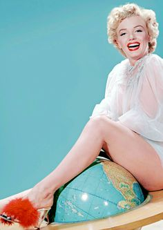Marilyn by Frank Powolny, 1952.