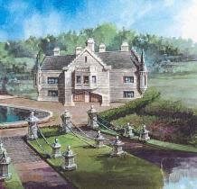 Archival Designs Castle House Plans On Pinterest Home