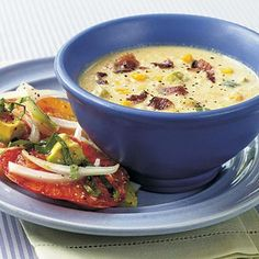 Corn and Bacon Chowder | CookingLight.com
