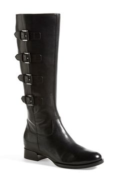 ECCO 'Sullivan' Buckle Leather Boot (Women) available at #Nordstrom- i want these shoes so bad - size 9 - amazing- in the brown color
