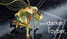 Even darker even cyber Vector