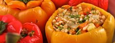 Greek Stuffed Peppers - Forks Over Knives