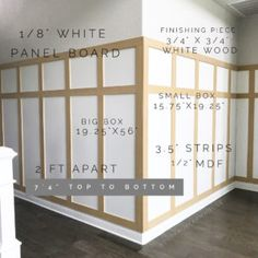 board and batten wall DIY Board & Batten Young House Love, Home Upgrades, Home Renovation, Home Remodeling, White Wall Paneling, Panelling, Vibeke Design, Mawa Design, Boho Home