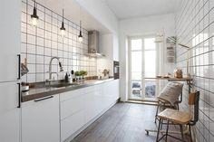 3 White kitchen via emmas blogg