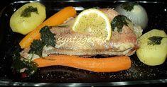 """ΨΑΡΟΣΟΥΠΑ με ΚΟΚΚΙΝΟΨΑΡΟ ΥΛΙΚΑ * 2 κοκκινόψαρα (1 κιλ.περίπου) εύκολες και γρήγορες συνταγές """"ψαρόσουπα με κοκκινόψαρο"""" * 1 κρ... Fish And Seafood, Sushi, Food And Drink, Cooking, Ethnic Recipes, Kitchen, Brewing, Cuisine, Cook"""