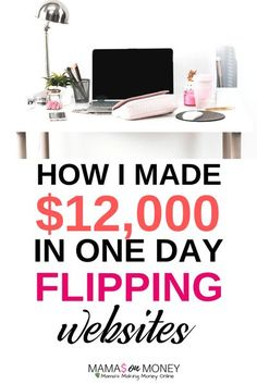 Looking for a fun and lucrative side hustle to help you make extra money? Want to escape the 9 to 5 rat race in place of a job of freedom, flexibility and be your own boss? Why not venture into website flipping? Check out How I Made $12,000 In One Day Fli