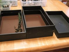 Steel-lined miniatures storage trays   Flickr - Photo Sharing!