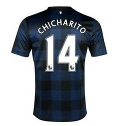 259c96c0e 2013-2014 Manchester United Nike Away Football Shirt 14 Chicharito  http://www