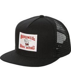 274df2a185f Birdwell Birdie Trucker Hat BLACK Hats For Men
