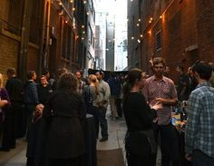 Urban alleys become pathways to revitalization, Brewer's Alley at the Rialto Cafe in Denver