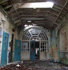 The Creepy World of Abandoned Asylums | Whittingham Asylum, near Preston, England (1869-1995)