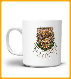 ABSTRACT TIGER Mug - Tiger shirts (*Partner-Link)