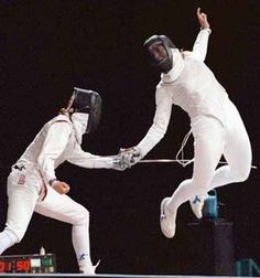 Cross-training for fencing
