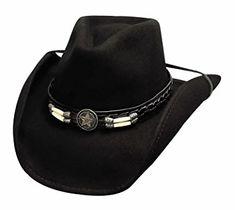 "Bullhide Hats ""Skynard"" Pinchfront Felt Cowboy Hat 0445BL Review Black Cowboy  Hat 11d10e9face0"