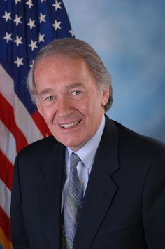 Senator Edward J. Markey of Massachusetts. I had the pleasure of meeting the senator just prior to a luncheon we attended in Boston this summer.