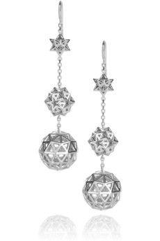 Earrings by Solange Azagury-Partridge-A former creative director at Paris jeweler Boucheron