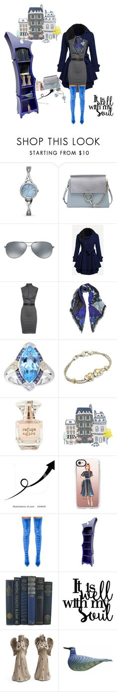 """bsejc80@gmail.com"" by conley-esperanzaj1957 on Polyvore featuring Allurez, Chloé, Ray-Ban, Dsquared2, McQ by Alexander McQueen, Phillip Gavriel, Tiffany & Co., Refuge, Casetify and Balenciaga"